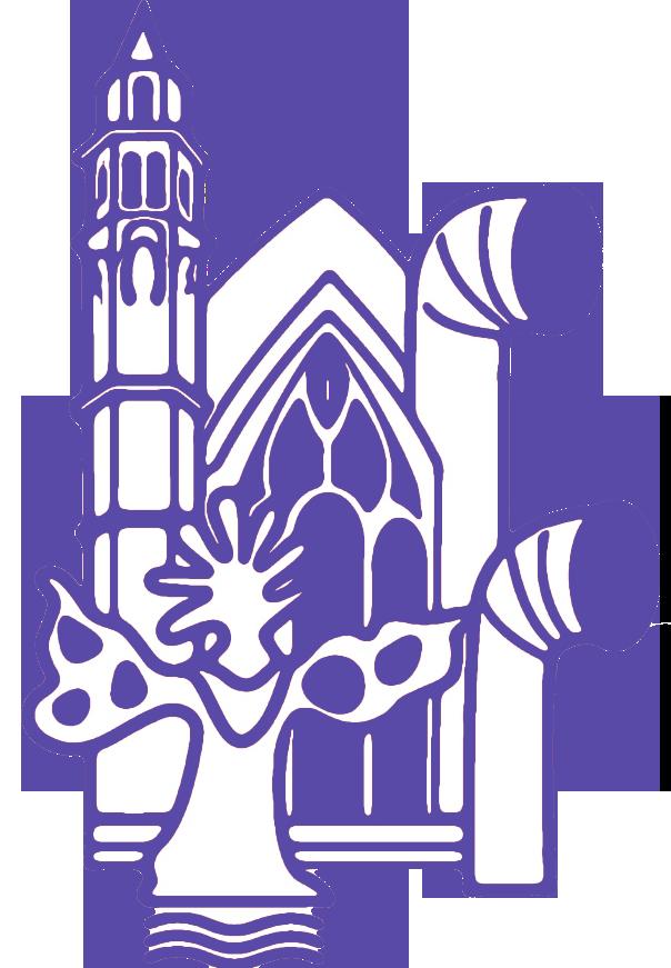 Logo Saint-Merry Hors les Murs Violet