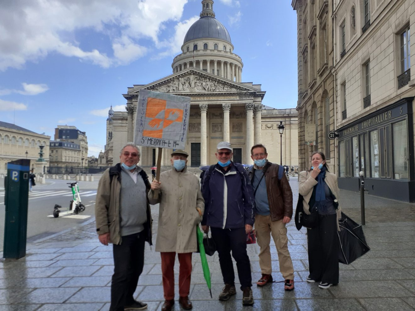 Une Marche pour la Fraternité dans Paris