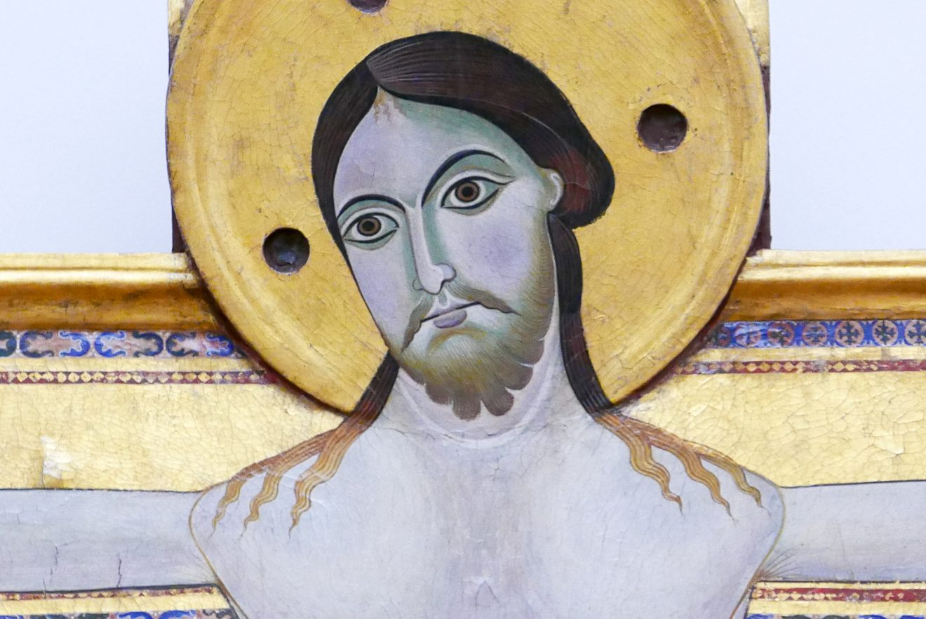 Maître du crucifix-Le Christ en croix-Offices-Florence-1150-1200
